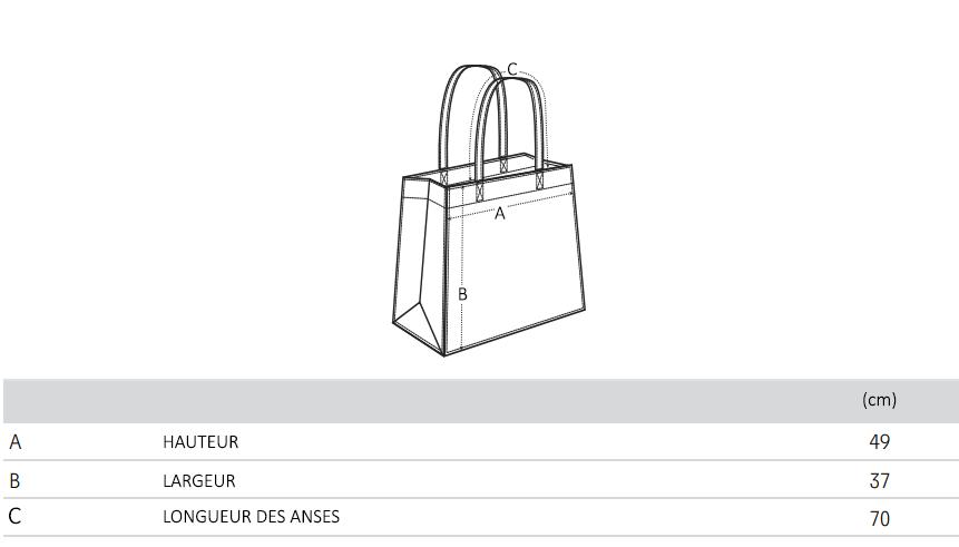 Guide de Taille Shopping bag