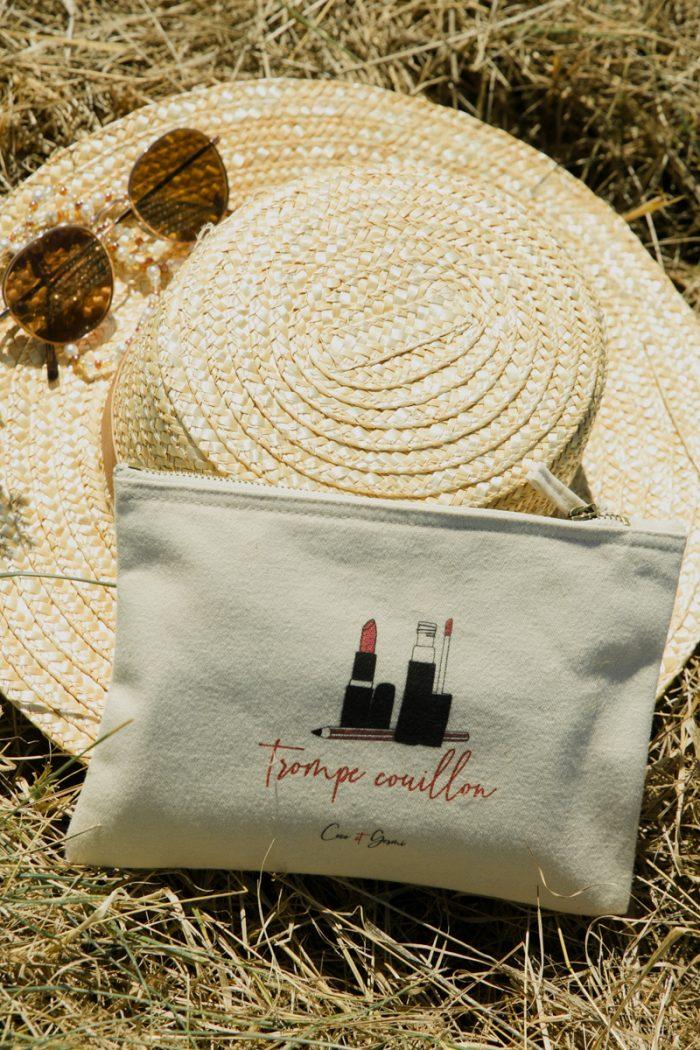coton biologique bio imprimé france blanc minimaliste éthique mode équitable éco responsable tote bag shopping bag sac grand format sac de plage sac de courses trousse