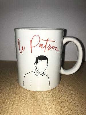 Patron tasse mug idée cadeau petit déjeuner bol original