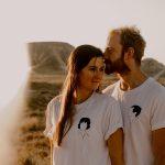 Mariage en Terre Inconnue Tee-shirt coton biologique bio brodé france broderie t-shirt blanc minimaliste éthique mode équitable éco responsable