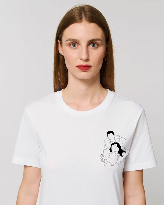 Tee shirt personnalisé femme adulte